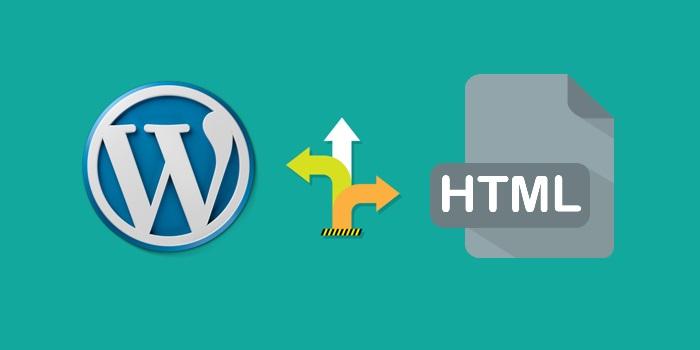 html or wordpress